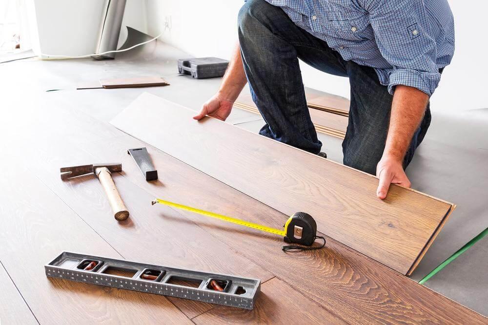 超耐磨木地板diy