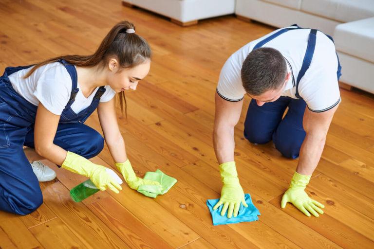 超耐磨地板清潔